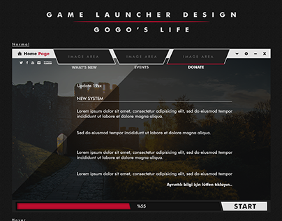 Game Launcher for 4KO system