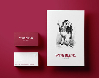 Wine Blend | Branding