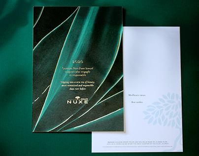 NUXE - CARTE DE VOEUX 2020