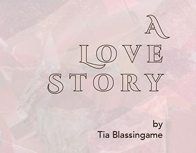 A Love Story artist's book