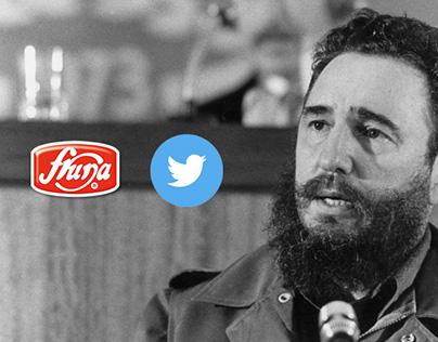 Fruna - Fidel tweet