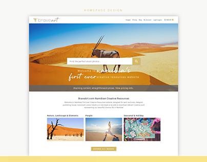 BraveArt Website Design and Development