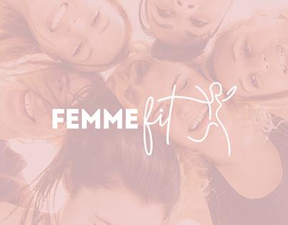 Femme Fit - Women's Fitness Branding Logo Design