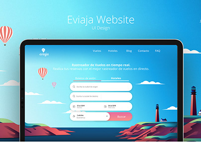 Eviaja Website