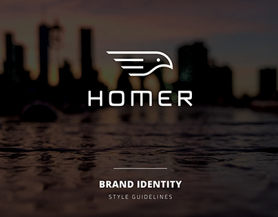 Homer Brand Identity Guidelines (Redesign, 2018)