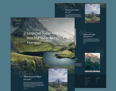 Hiker Training Website