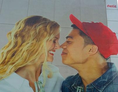 Coca Cola Model Billboard
