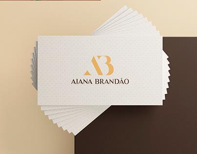 Aiana Brandão - Identidade Visual
