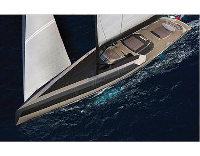 S / Y Scalprum Sailing Superyacht