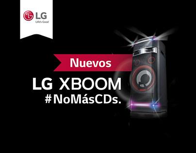 Propuesta lanzamiento LG XBOOM
