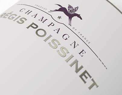 Champagne Régis Poissinet Branding