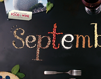 Food Typography (September)
