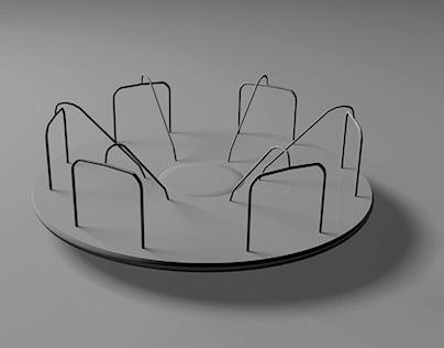 3D Chair on Behance