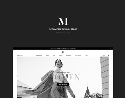 E-commerce fashion store