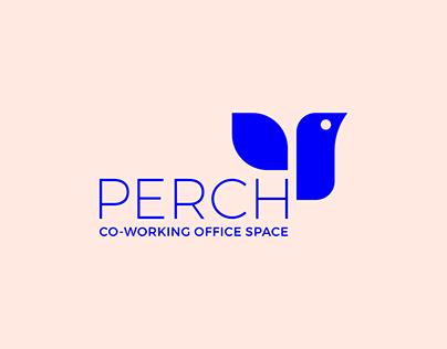 Perch Co-working Office Space branding & website design