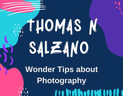 Thomas N Salzano - Wonder Tips about Photography
