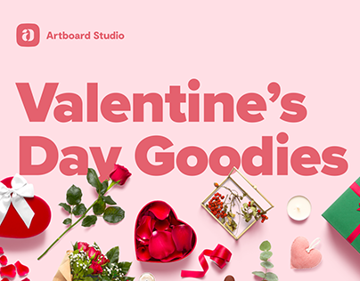 Valentine's Day Templates and free mockups