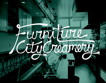 Furniture City Creamery T-Shirt Design