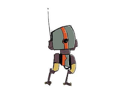 Robot Illustrations - 2017
