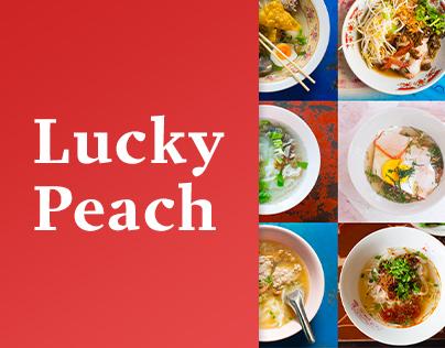 LUCKY PEACH WEBSITE