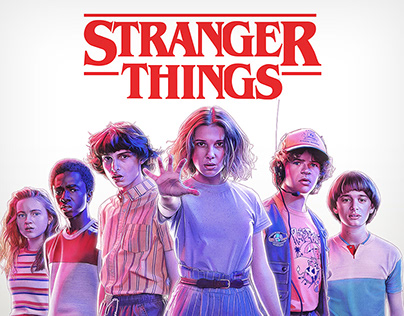 Stranger Things 3 - OFFICIAL Merch Art