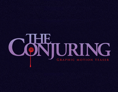 The Conjuring Teaser - Graphic Motion - Study Project