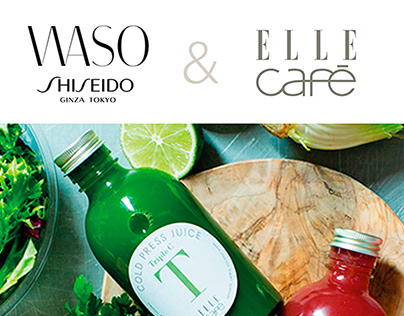 SHISEIDO WASO JAPÓN & ELLE CAFÉ
