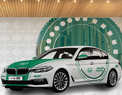 WALL DESIGN (Dubai Police )