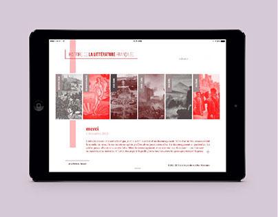 Webdesign - la-litterature.com