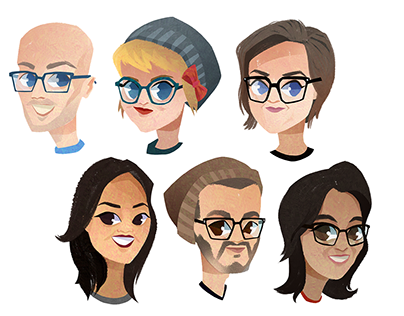 Smiling Faces: Avatars for Charity
