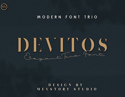 DEVITOS - FREE ELEGANT SERIF FONT