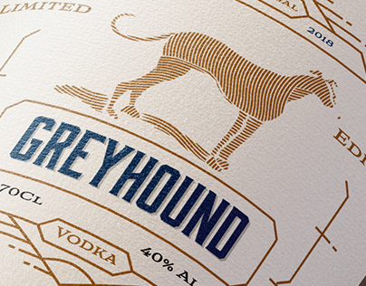 Greyhound Vodka Branding