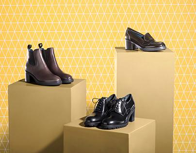 Le Ble Shoes Campaign f/w 2017