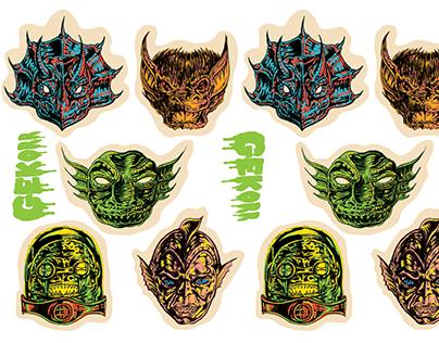 Gekorr Die-cut Stickers 1