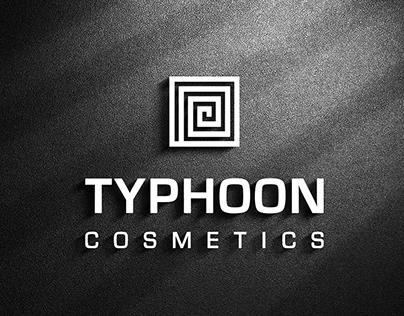 Logo Design for Typhoon Cosmetics Dubai