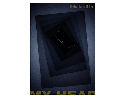 """""""In my head"""" poster"""