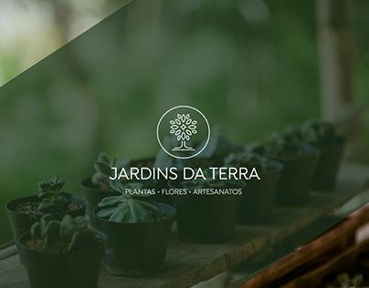 Jardins da Terra - Logo design