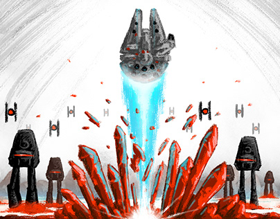 """""""Star Wars: The Last Jedi"""" - fan poster"""