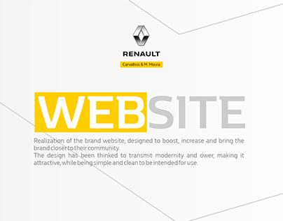 Website Carvalhos & M. Moura - Renault Agent