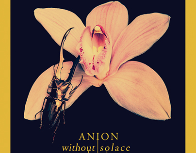 """Anion """"Without Solace"""" - Album Packaging"""