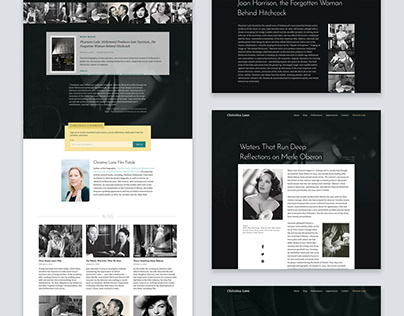 Christina Lane website