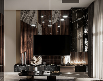 Luxurious living room | Stand alone villas