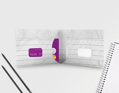 Carteira de Papel - Notepad