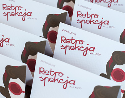 Retrospekcja - lata 40/50 | visual identity