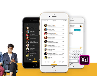 Mobile Chat Application - XDdailychallenge Day 5