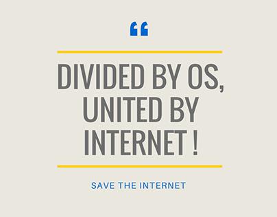 Visual Communication: Net Neutrality India