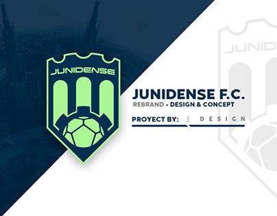 ▩ JUNIDENSE F.C. ▩ Rebrand - Design & Concept