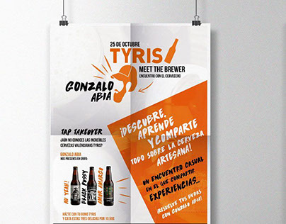 Beer Tap Takeover - advertising