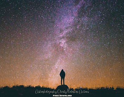 Astrophotography Photoshop Actions : Free Download
