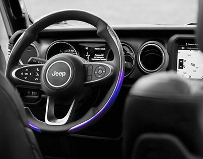 Steering Wheel for Jeep Wrangler